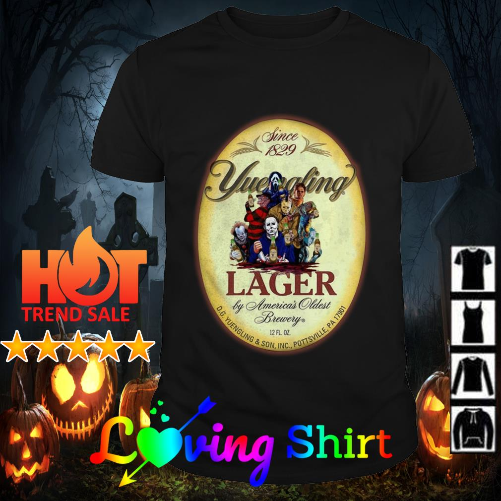 Horror character since 1829 Yuengling Lager shirt