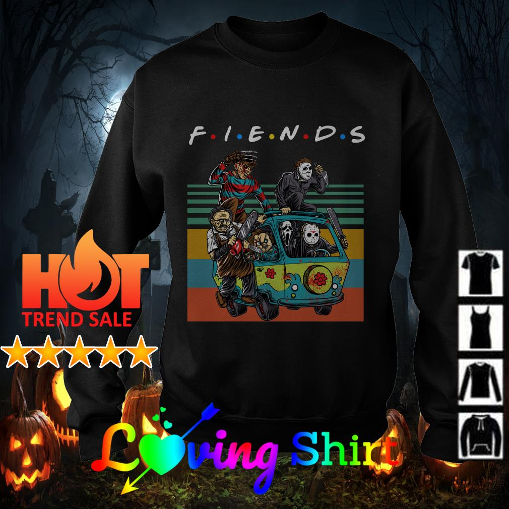 Horror Characters Movie Friend vintage shirt