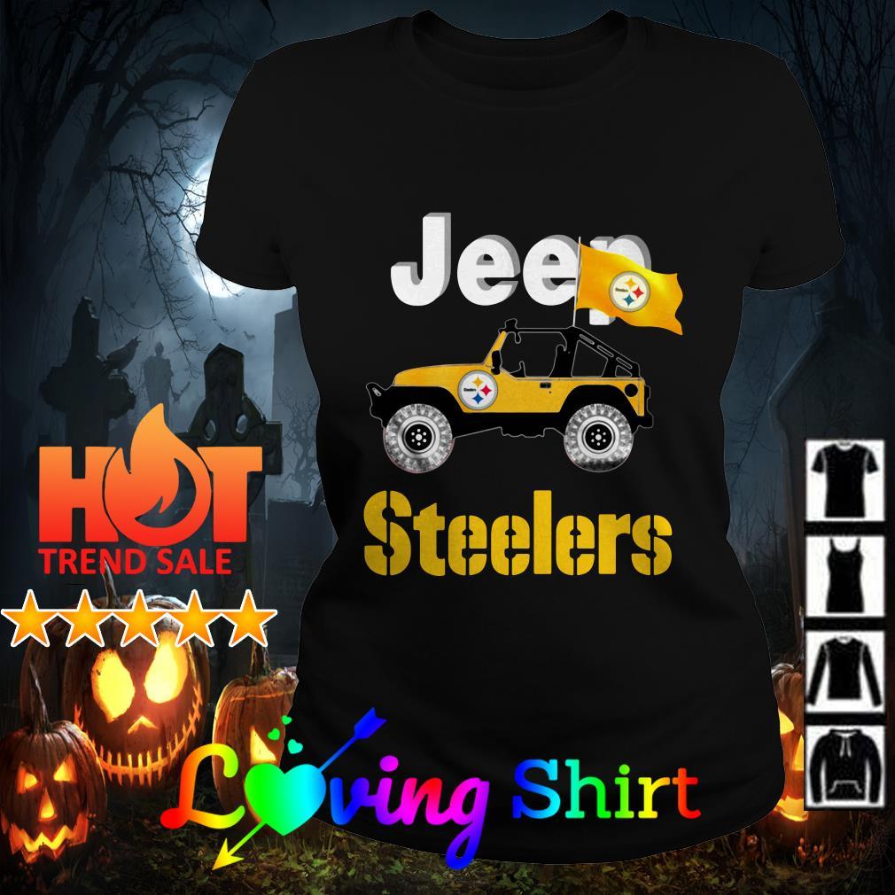 Jeep Pittsburgh Steelers shirt