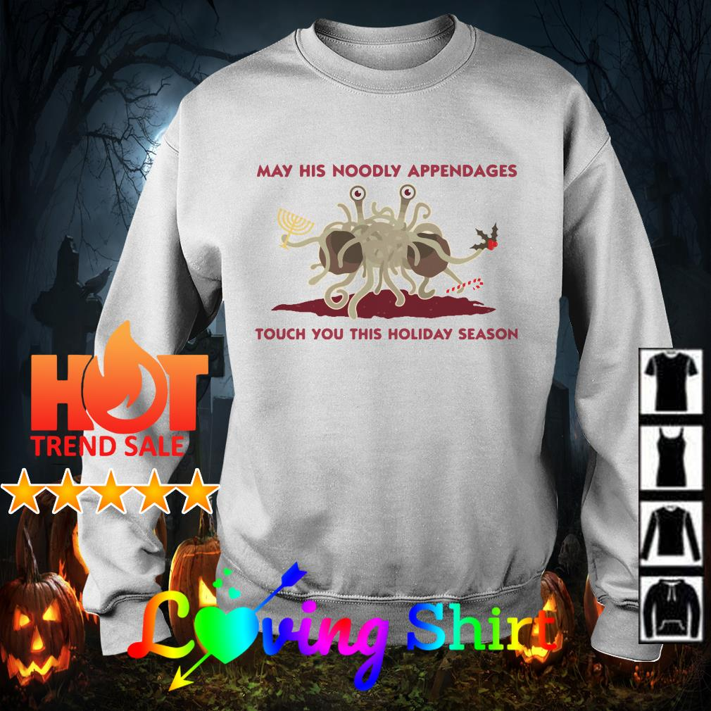 May his noodly appendages touch you this holiday season shirt