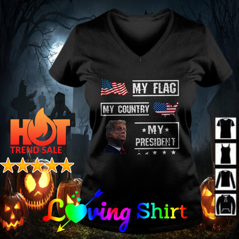 My flag my country but not my president shirt