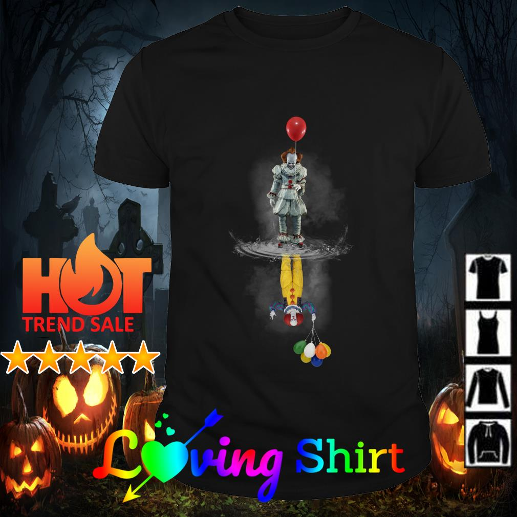 Pennywise reflection Water mirror The Clown shirt