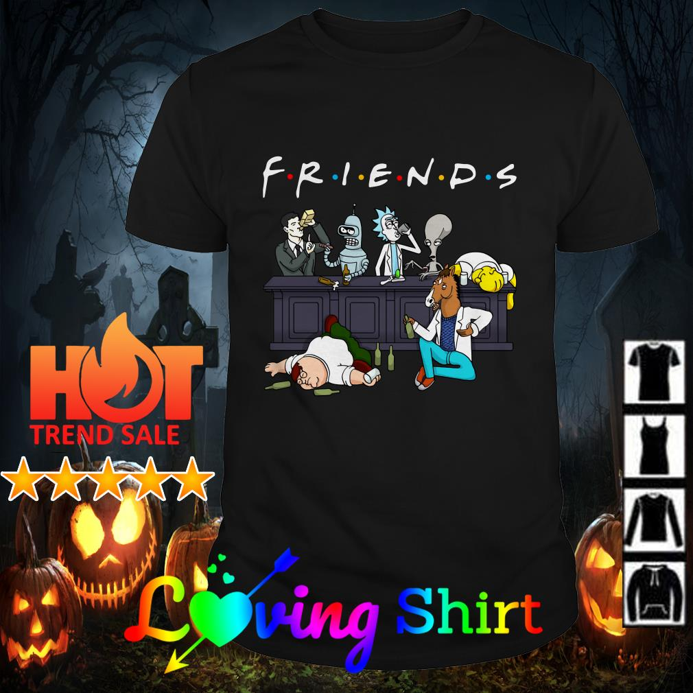 Rick and Morty Pete and Roger friends shirt