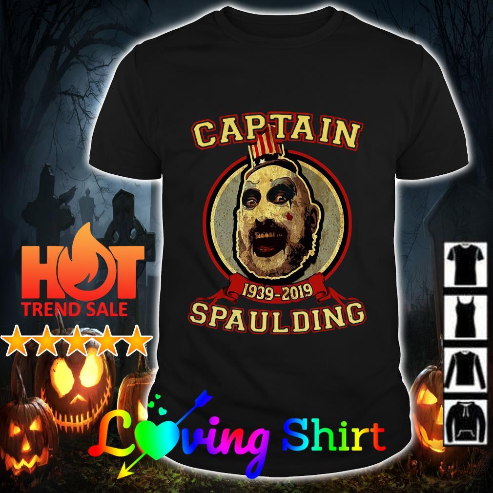Sid Haig Captain Spaulding 1939-2019 shirt