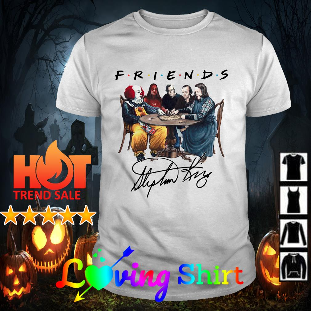 Stephen King Horror Friends shirt