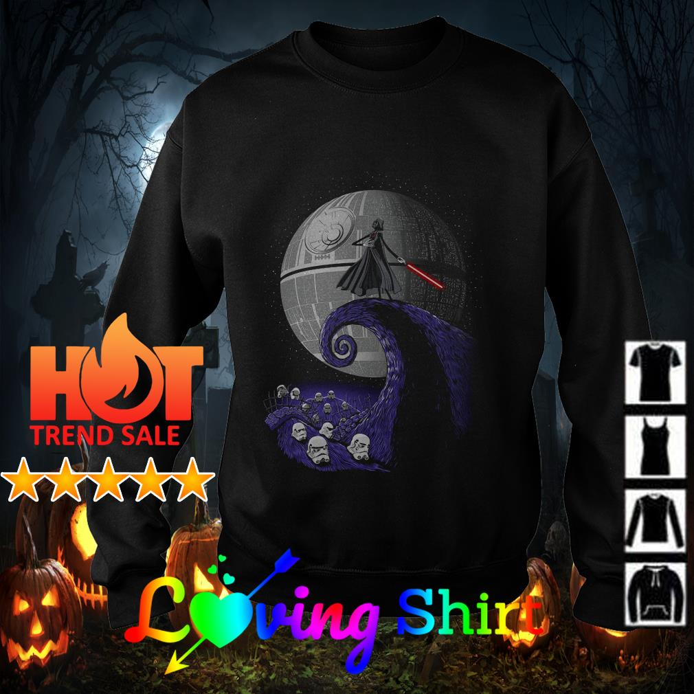 The Nightmare Jack Skellington Star War shirt