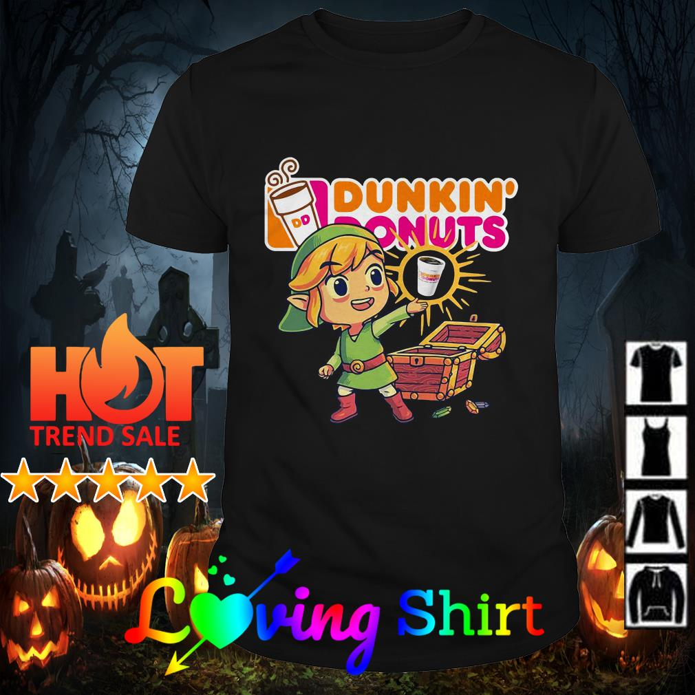 Zelda you found Dunkin' Donuts shirt