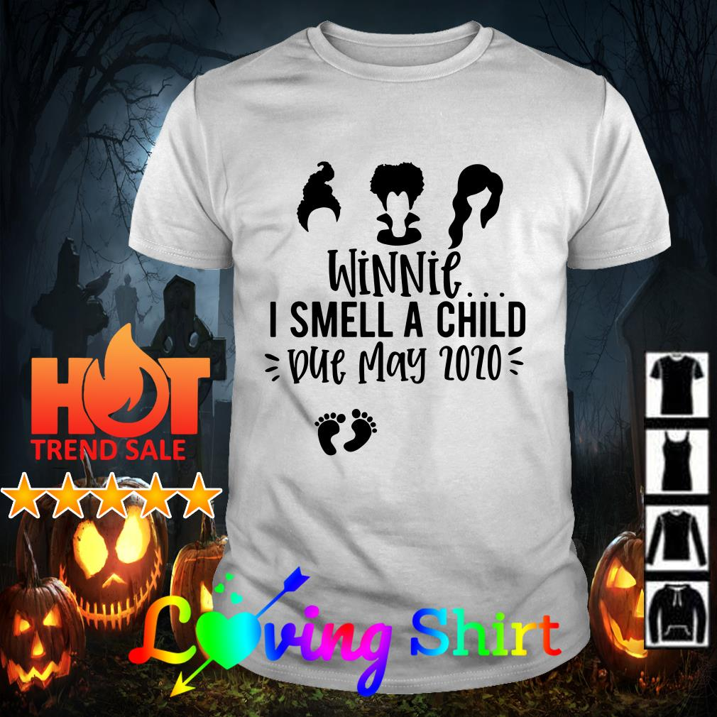 Hocus pocus winnie I smell a child due june 2020 shirt