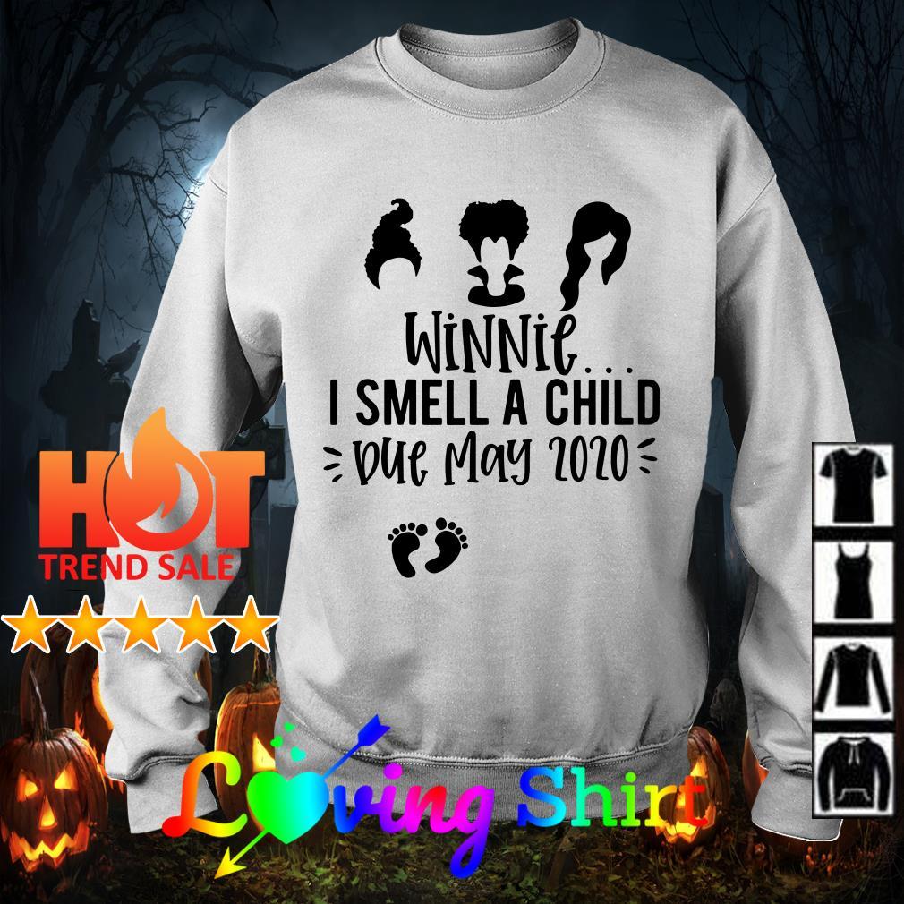 Hocus pocus winnie I smell a child due june 2020 shirt
