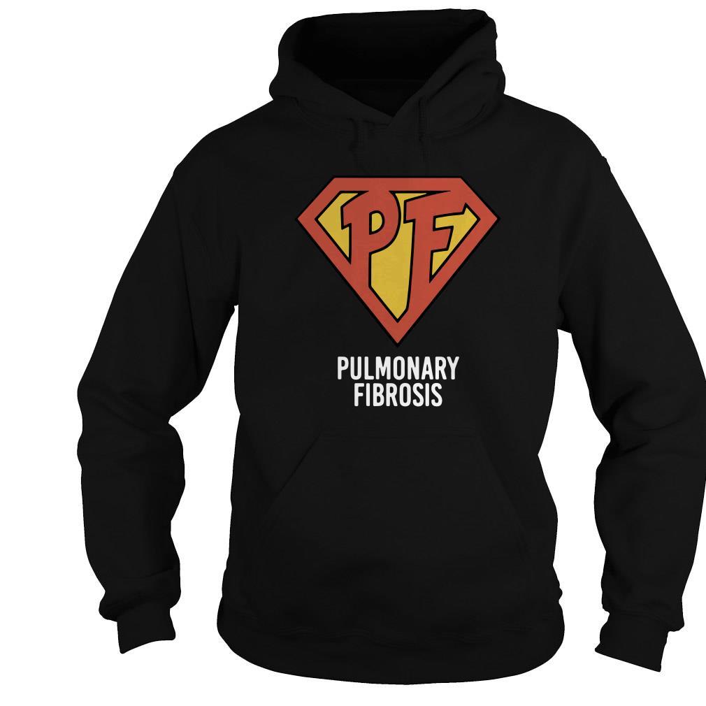 PF Pulmonary Fibrosis shirt