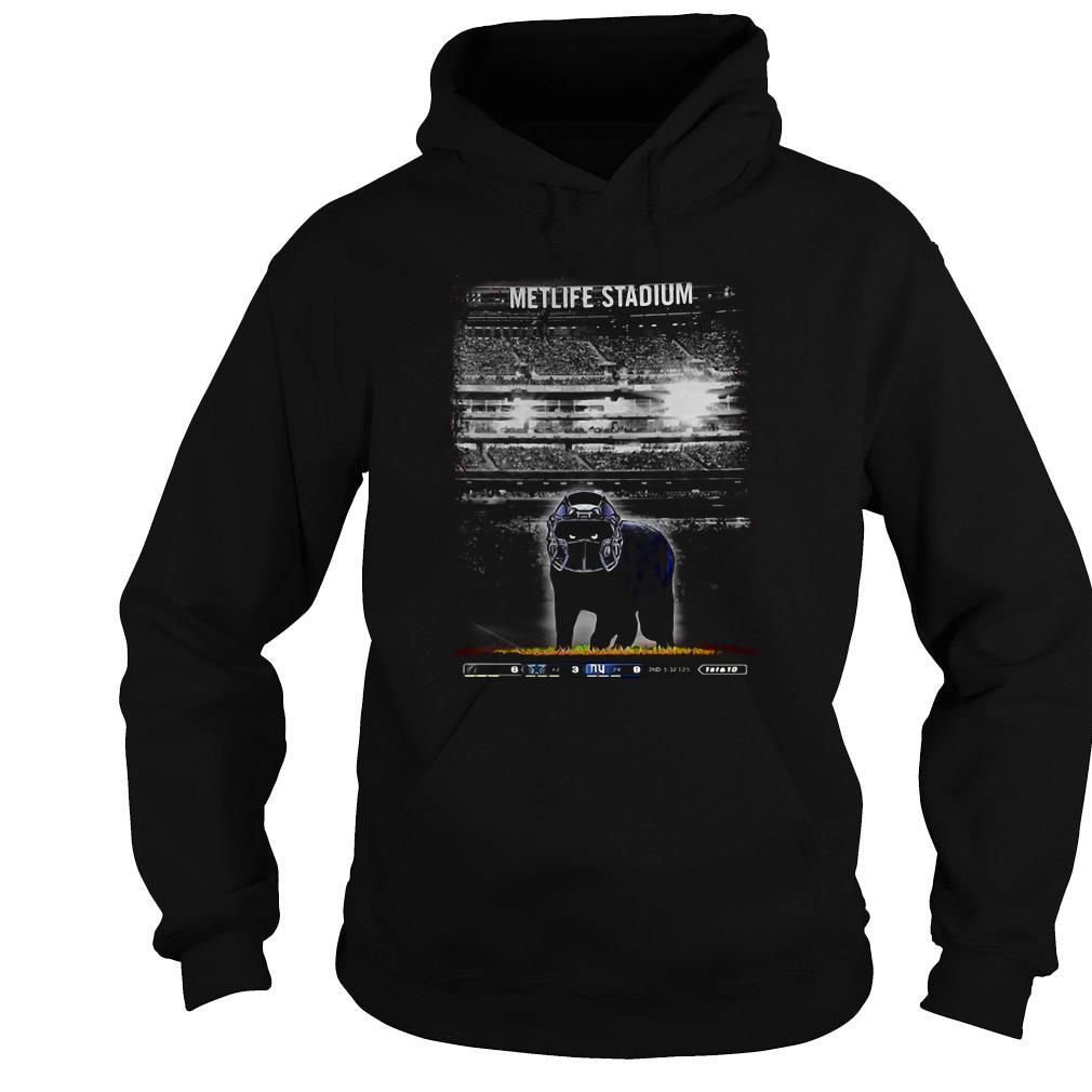 Metlife Stadium black Cat shirt