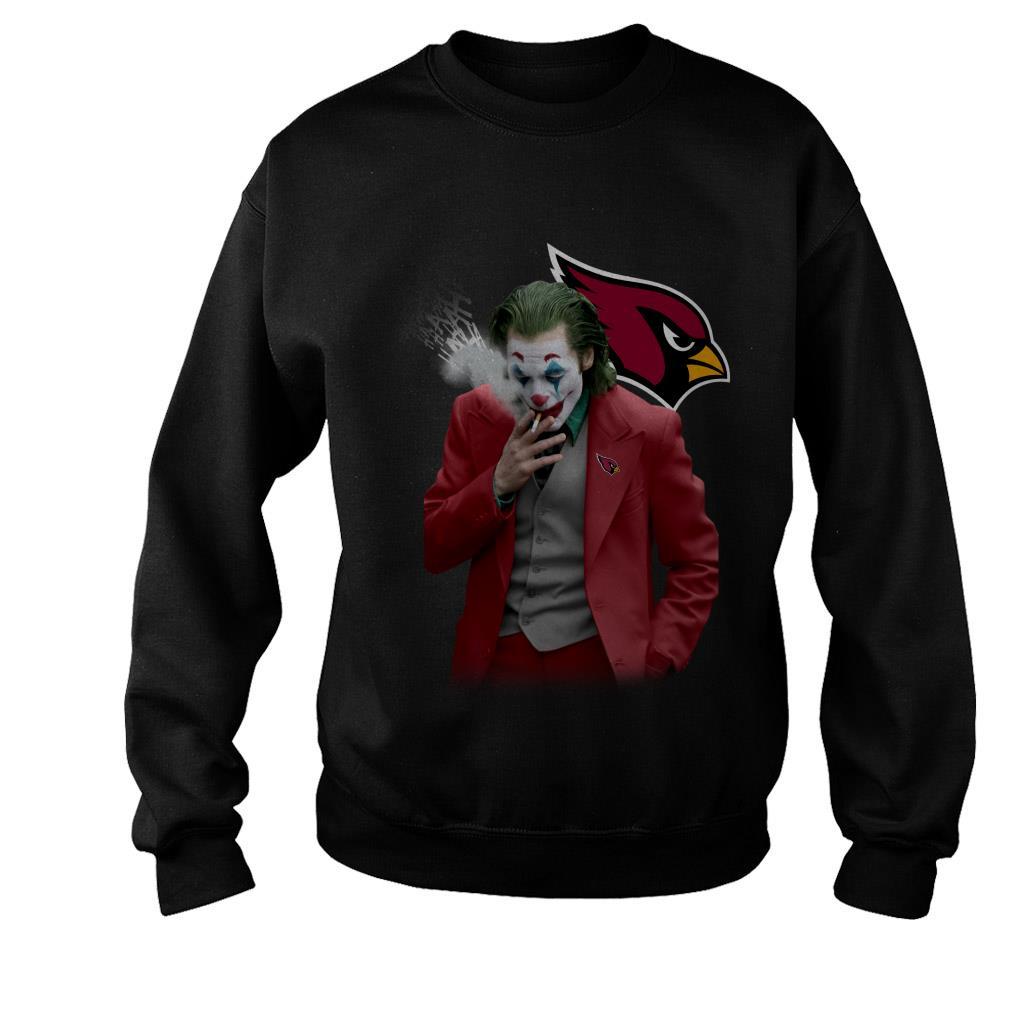 Joker Joaquin Phoenix Arizona Cardinals shirt