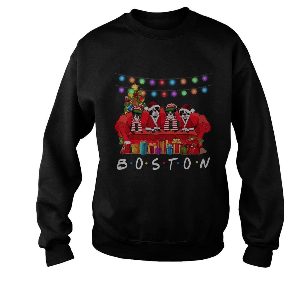 French Bulldog Boston Christmas sweater