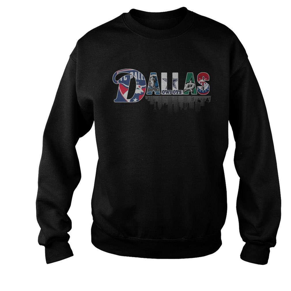 Dallas Team Sports FC Dallas Mavericks Cowboys Stars Rangers Shirt
