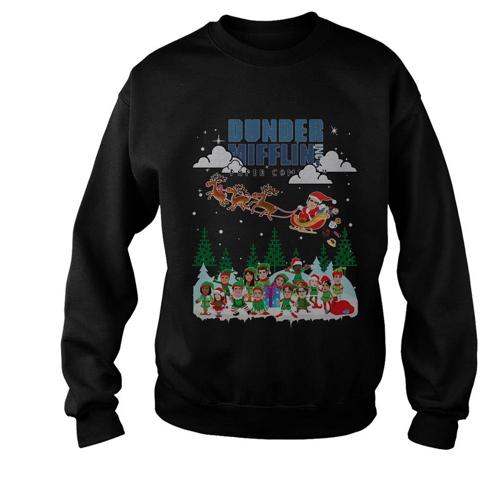 Dunder Mifflin Inc paper company Christmas Sweater