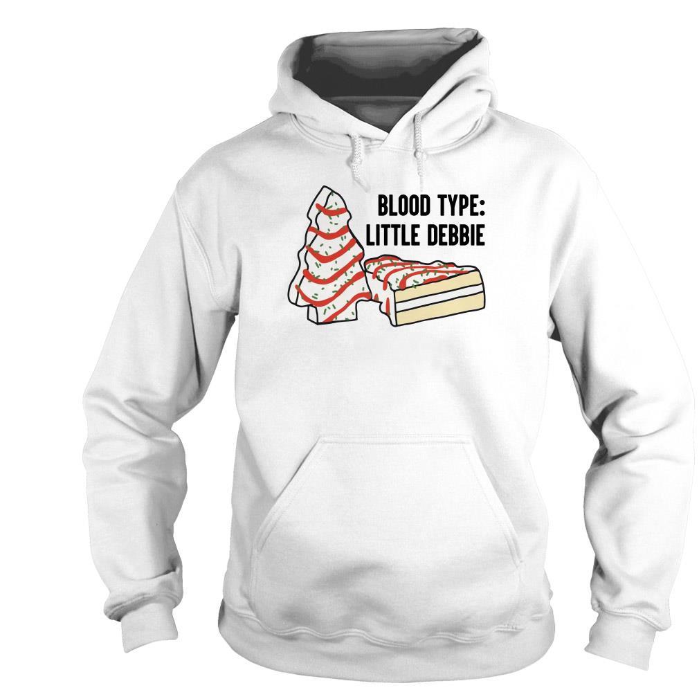 Blood type little Debbie sweater