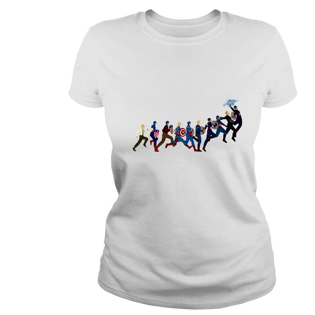 Marvel Steve Rogers Captain America's all seasons shirt
