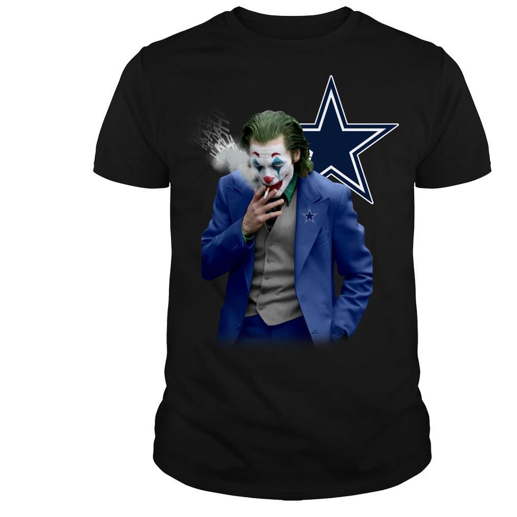 Joker Joaquin Phoenix Dallas Cowboys shirt