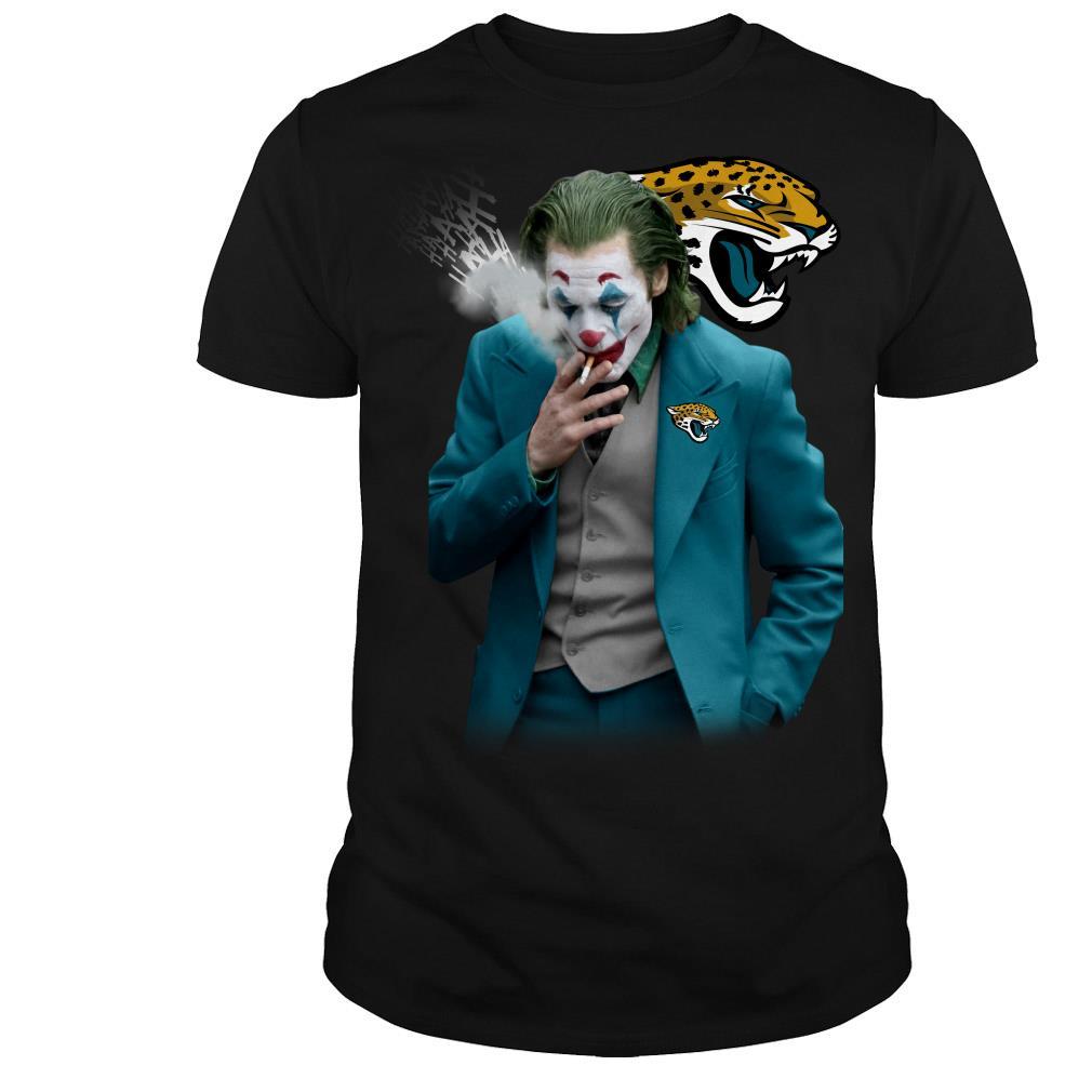 Joker Joaquin Phoenix Jacksonville Jaguars shirt