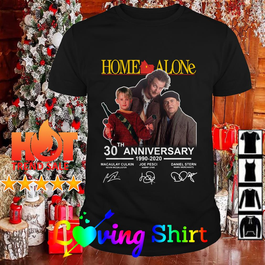 Home Alone 2020.Home Alone 30th Anniversary 1990 2020 Signature Shirt Hoodie
