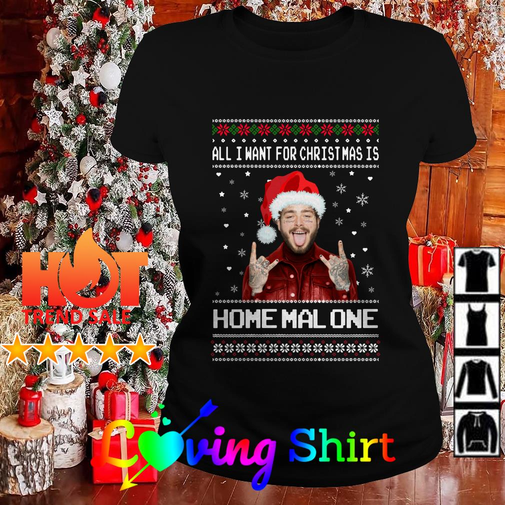Post Malone Santa All I Want For Christmas Is Home Malone