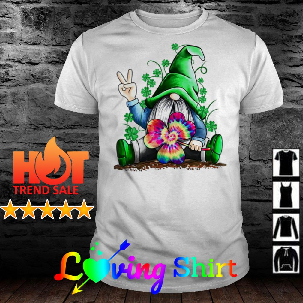 St Patrick's Day Hippie Gnome shirt