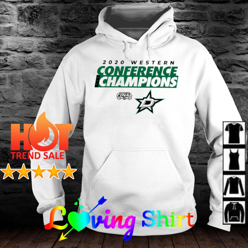 2020 Western Conference Champions Dallas Stars Shirt hoodie