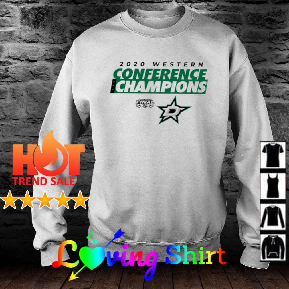 2020 Western Conference Champions Dallas Stars Shirt sweater