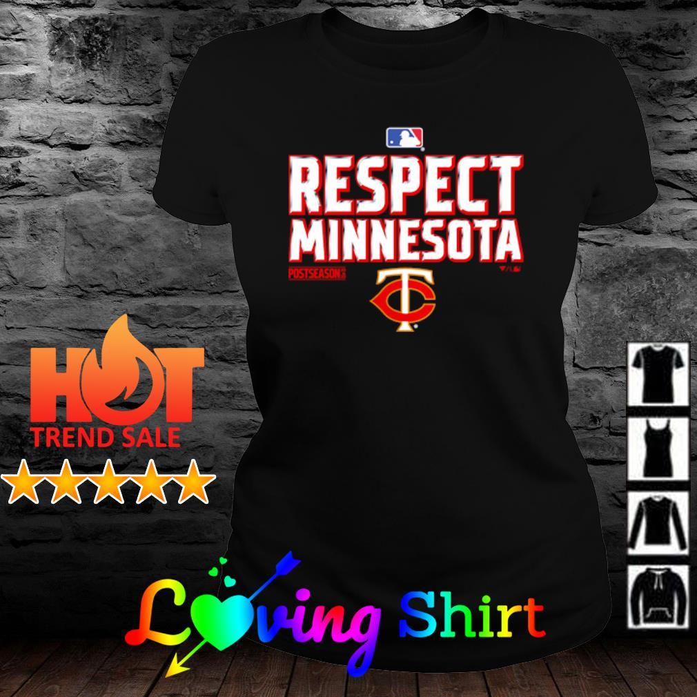 Respect Minnesota Twins 2020 s ladies-tee