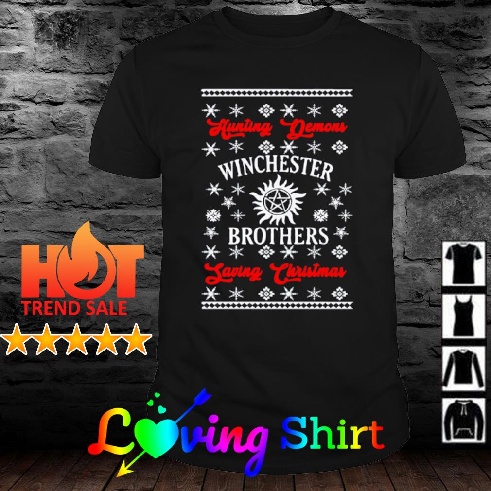 Winchester Brothers Ugly Christmas sweater
