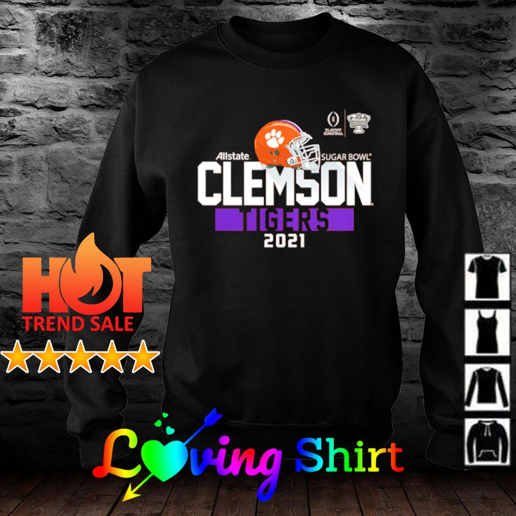 Clemson Tigers College Football Playoff 2021 Sugar Bowl Bound Backfield s sweater