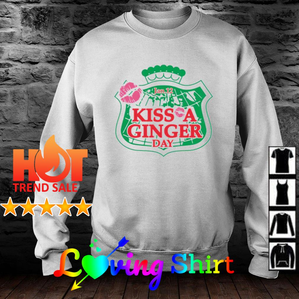Kiss a Ginger Day Jan 12th s sweater