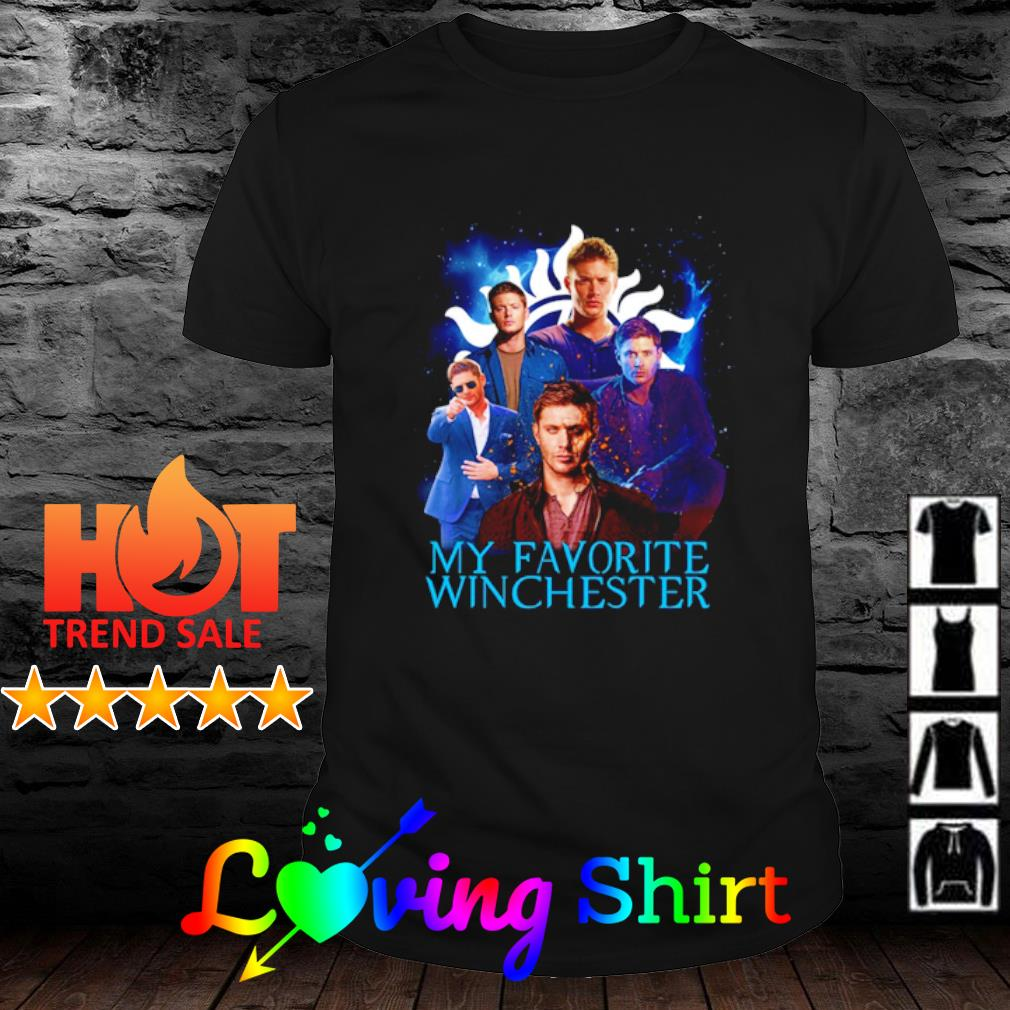 Supernatural my favorite Winchester shirt